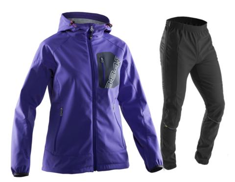 Женский лыжный костюм 8848 Altitude Jesse/Perfomance purple