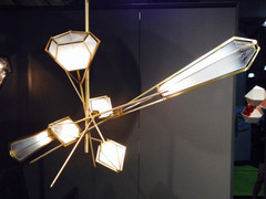 HARLOW Chandelier by Scott Gabriel ( small )