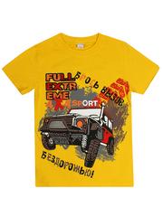 MK003F-28 футболка детская, желтая