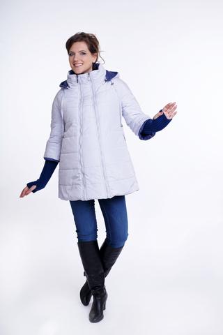 Куртка 04810 белый/сиреневый