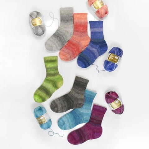 Rellana Flotte Socke Cashmere Merino 1323