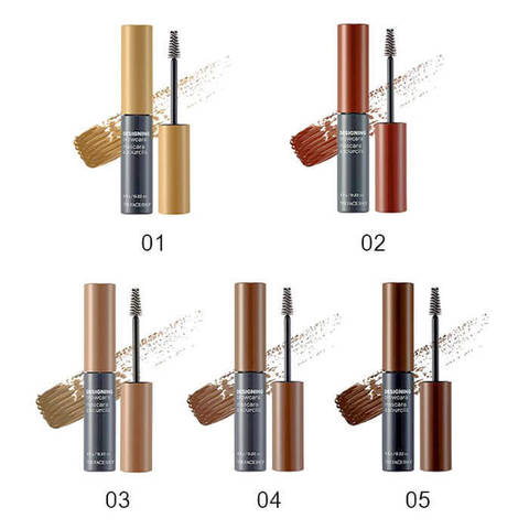 Тушь для бровей The FACE SHOP Designing browcara #04 Brown, 6,5 гр