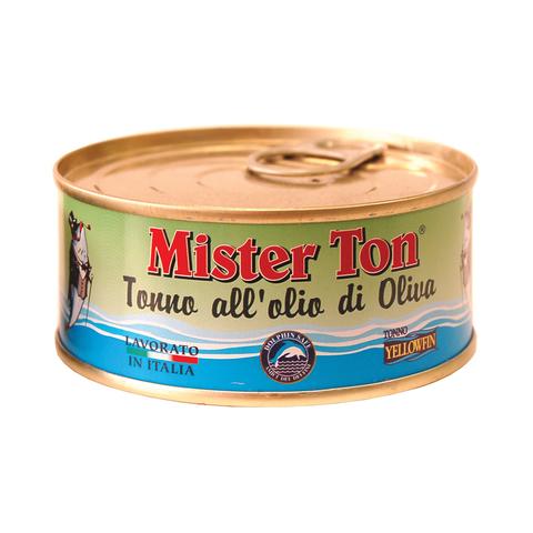 Тунец Mister Ton Yellowfin в оливковом масле 160 г
