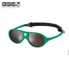 Очки солнцезащитные детские Ki ET LA Jokala 2-4 года. Emerald Green (изумрудный)