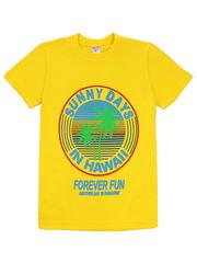 1180-11 футболка детская, желтая