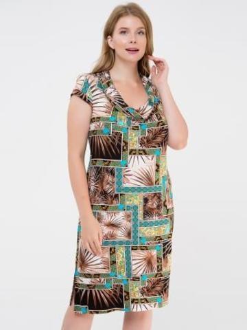 4605 Платье женское (Вискоза)