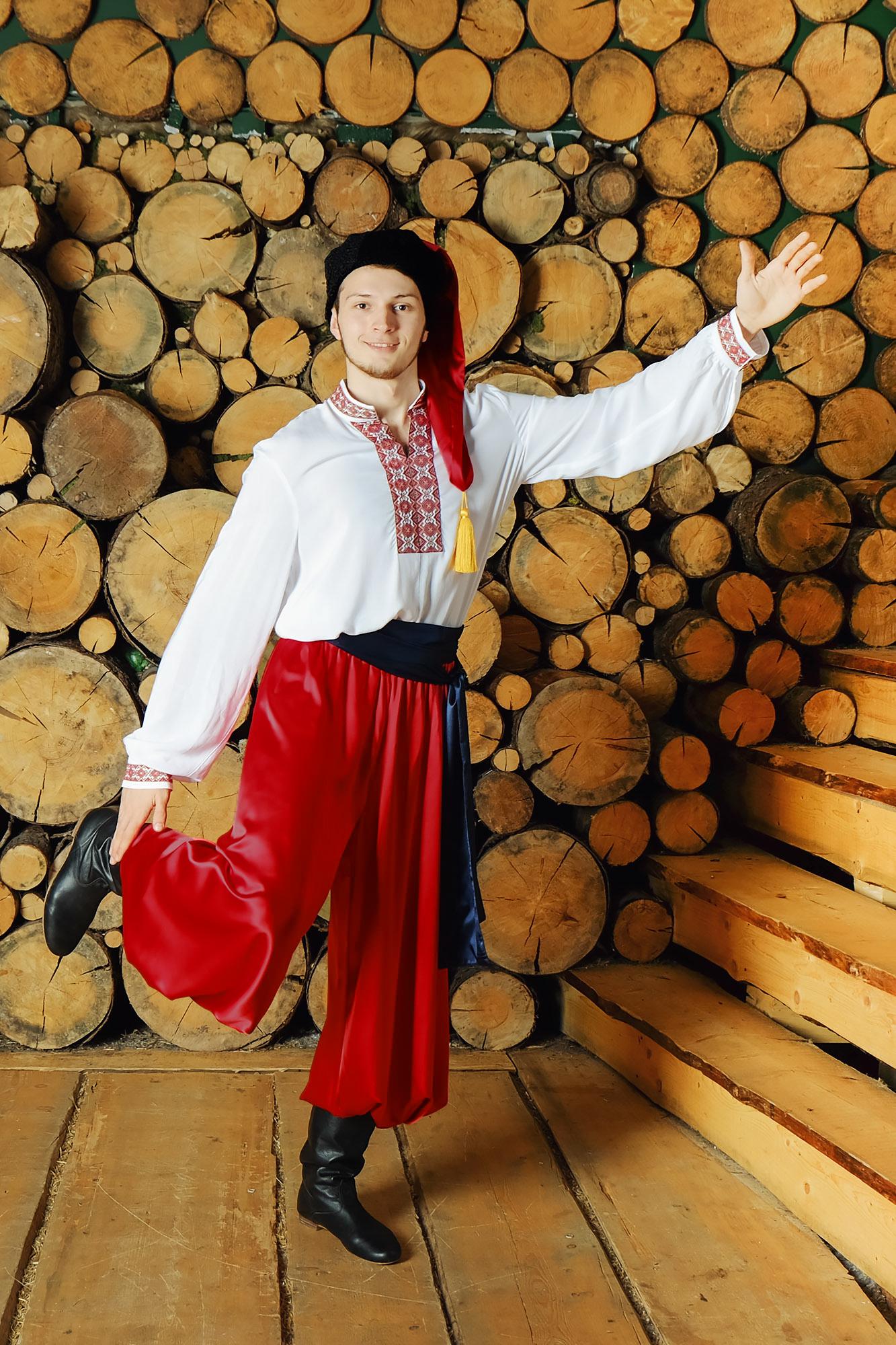 Костюм украинский народный Добрый молодец для танцев