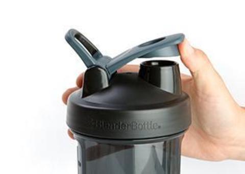 BlenderBottle Pro28, 828мл Шейкер спортивный с пружиной Tritan пластик для заказ защита от грязи на горлышке