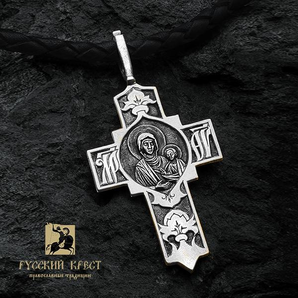 Крест православный Божия Матерь Одигитрия