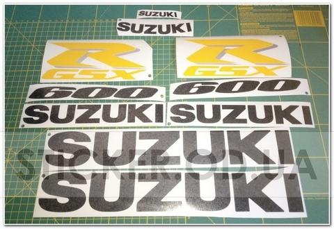 Набор наклеек Suzuki GSXR 600