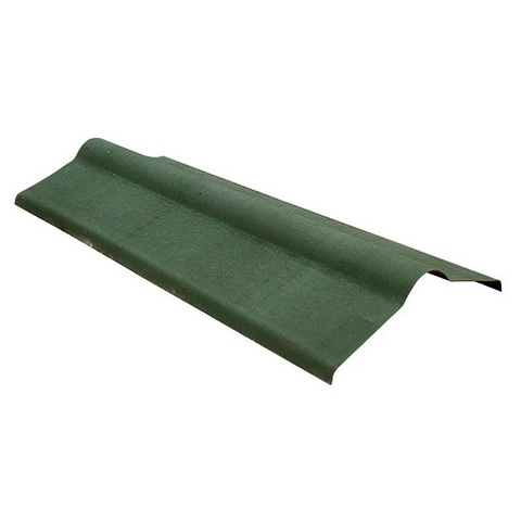 Конек ондулин зеленый 1000 мм