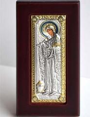 Геронтисса. Икона Божьей Матери в серебряном окладе.