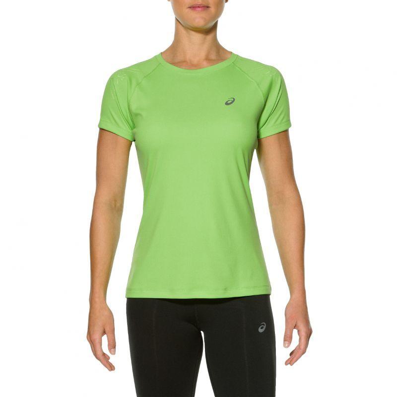 Женская футболка для бега Asics Stripe (SS 126232 0473) салатовая фото