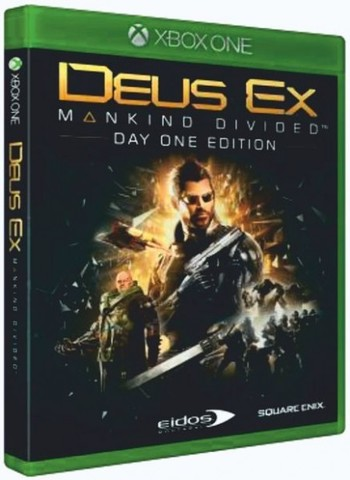 Microsoft Xbox One Deus Ex: Mankind Divided. Day One Edition (русская версия)
