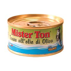 Тунец Mister Ton Yellowfin в оливковом масле 80 г