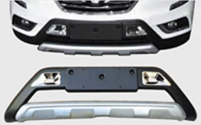 Накладка, Обвес на передний бампер OEM-Tuning CNT21-17KLO-001 для Renault Koleos 17 - abs chrome front grille around trim front bumper around trim racing grills trim for 2012 2013 renault koleos