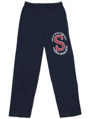 10063 брюки для мальчиков синие