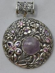 Кассандра (серебряная подвеска)