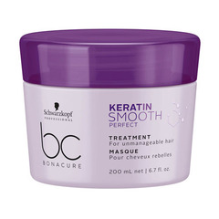 Маска контроль гладкости Schwarzkopf BC Bonacure Keratin Smooth Perfect Treatment