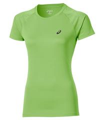 Женская футболка для бега Asics Stripe (SS 126232 0473) салатовая