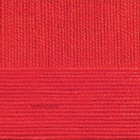 Пряжа АВСТРАЛИЙСКИЙ МЕРИНОС (Пехорка)88 Красный мак