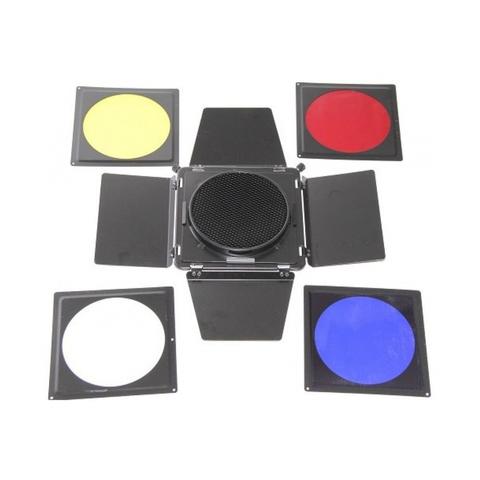 Шторки с сотами и цветными фильтрами FST BD-100
