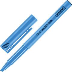 Маркер выделитель текста ATTACHE синий 1-3мм.