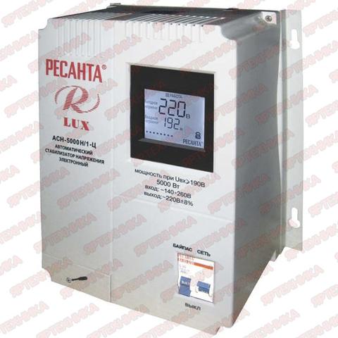 Стабилизатор Ресанта АСН-5000Н/1-Ц Lux