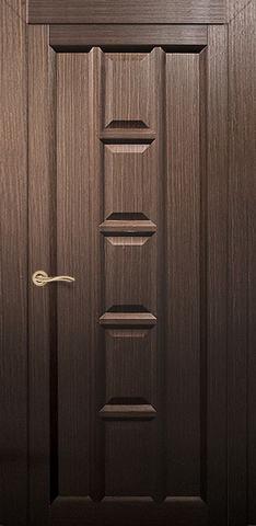Дверь Румакс Вега ДГ, цвет каштан, глухая