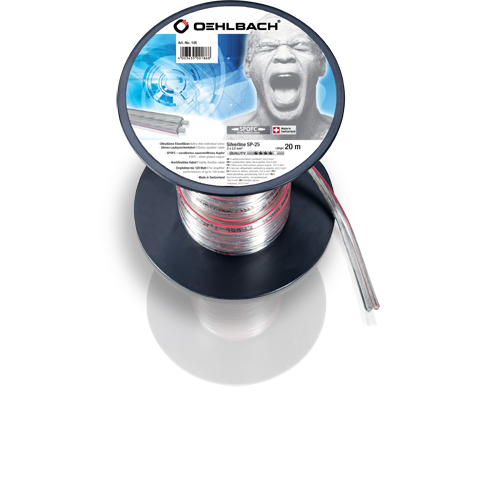 Oehlbach Silver SP25 2x2,5mm clear 20m, кабель акустический