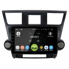 Штатная магнитола на Android 6.0 для Toyota Highlander II Roximo CarDroid RD-1122F