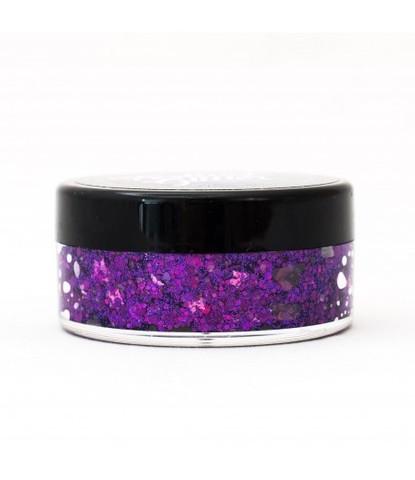 Гель блестки Festival glitter Fierce фиолетовый