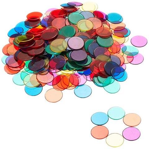 Фишки для счета Прозрачные круги 250 шт. Learning Resources