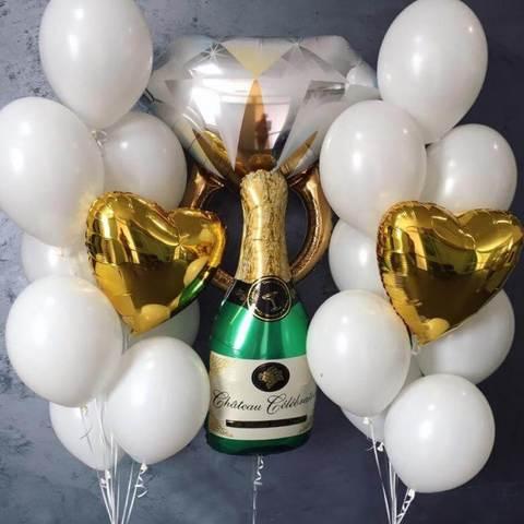 Белое шампанское