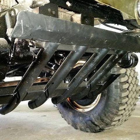 Установка защиты рулевых тяг УАЗ Патриот