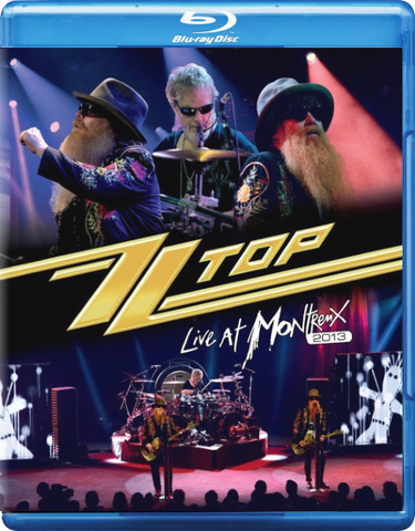 ZZ Top ‎/ Live At Montreux 2013 (Blu-ray)