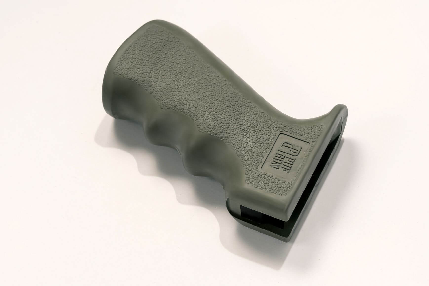 Пистолетная рукоятка Pufgun прорезиненная, олива