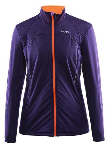 Лыжная куртка Craft Storm XC женская фиолетовая