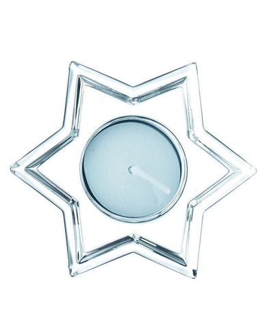 Crystal Christmas Votive Star