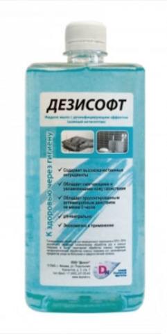 ДЕЗИСОФТ жидкое мыло с дезинфицирующим эффектом 1 л