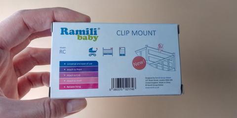 Коробка от крепления для камеры видеоняни Ramili Baby RV1300