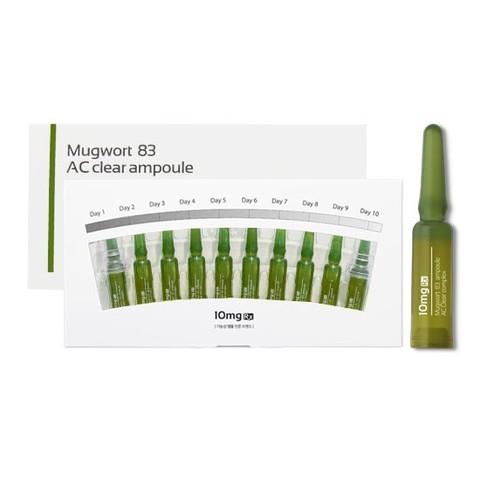 MUGWORT 83 AC CLEAR Сыворотка для лечения АКНЕ (упаковка 10 ампул)