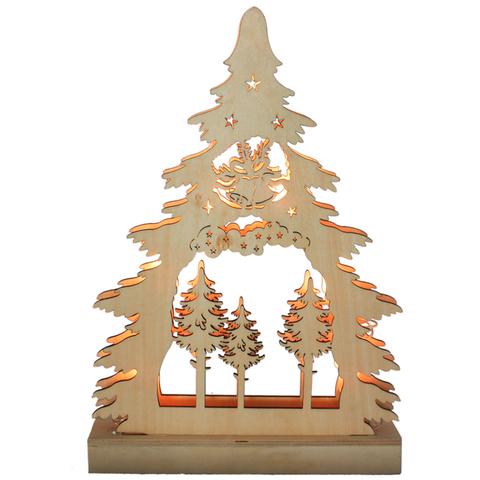 Световая фигура «Елочка деревянная», LT081 (Feron)