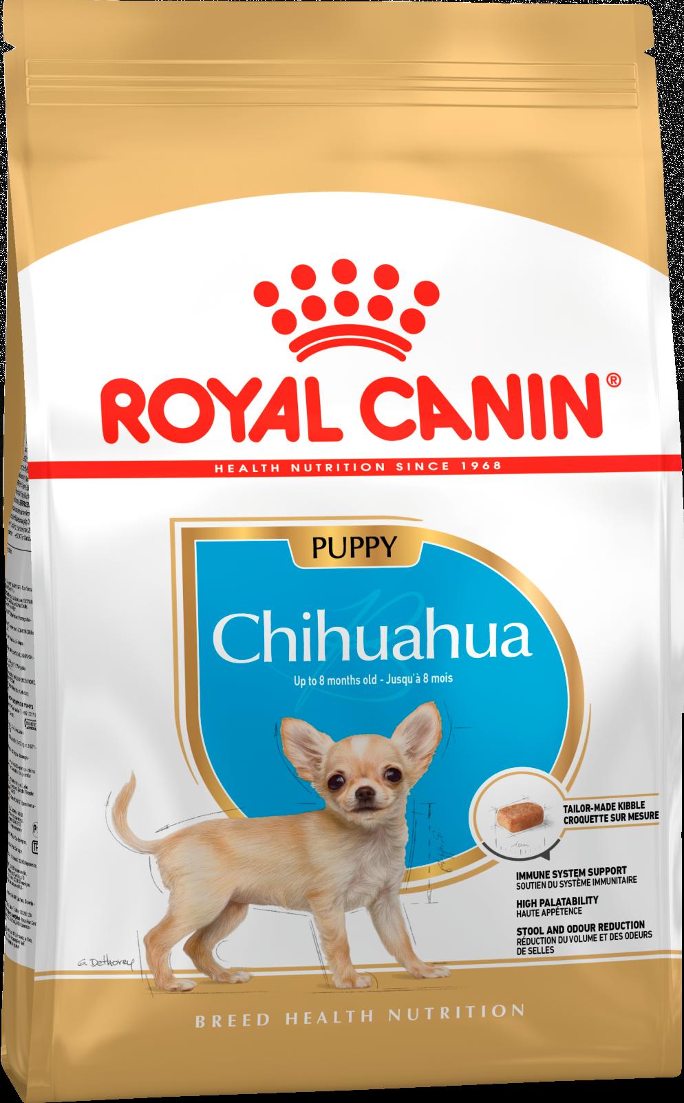 Royal Canin Корм для щенков собак породы чихуахуа, Royal Canin Chihuahua Junior 319005.png