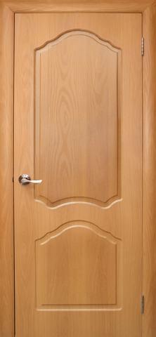Дверь Дубрава Сибирь Илона, цвет миланский орех, глухая