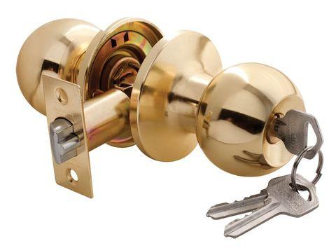 Фурнитура - Ручка-Шар с ключом-завёрткой Rucetti HK-01 L, цвет золото