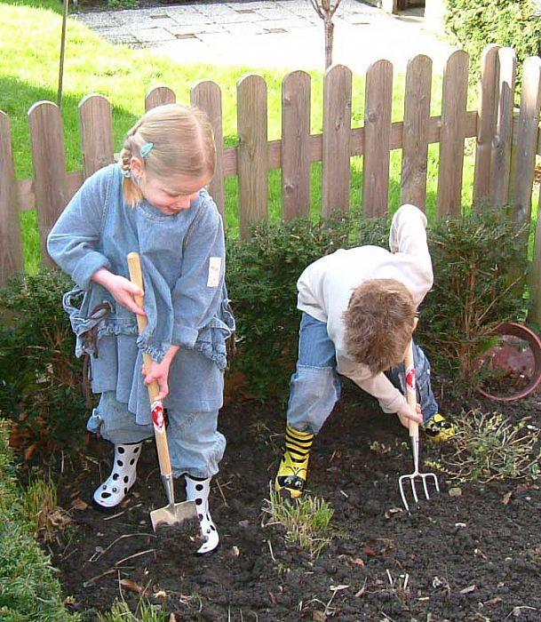 Детские садовые вилы Sneeboer