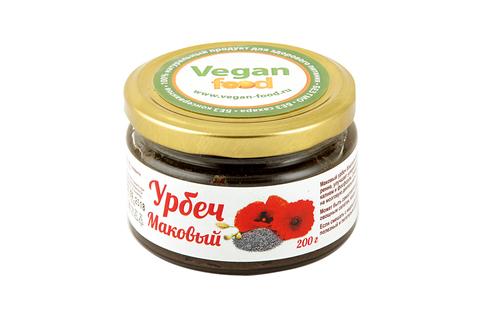 Урбеч из семян мака Vegan Food, 200 гр