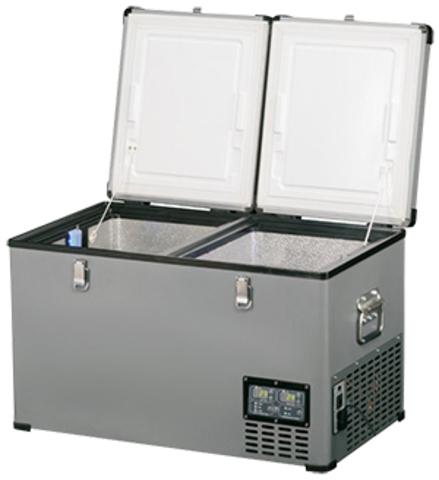 Компрессорный автохолодильник Indel-B TB65DD Steel (12V/24V/220V, 65л)
