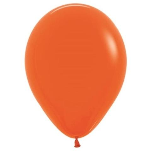 Шар Оранжевый, 30 см